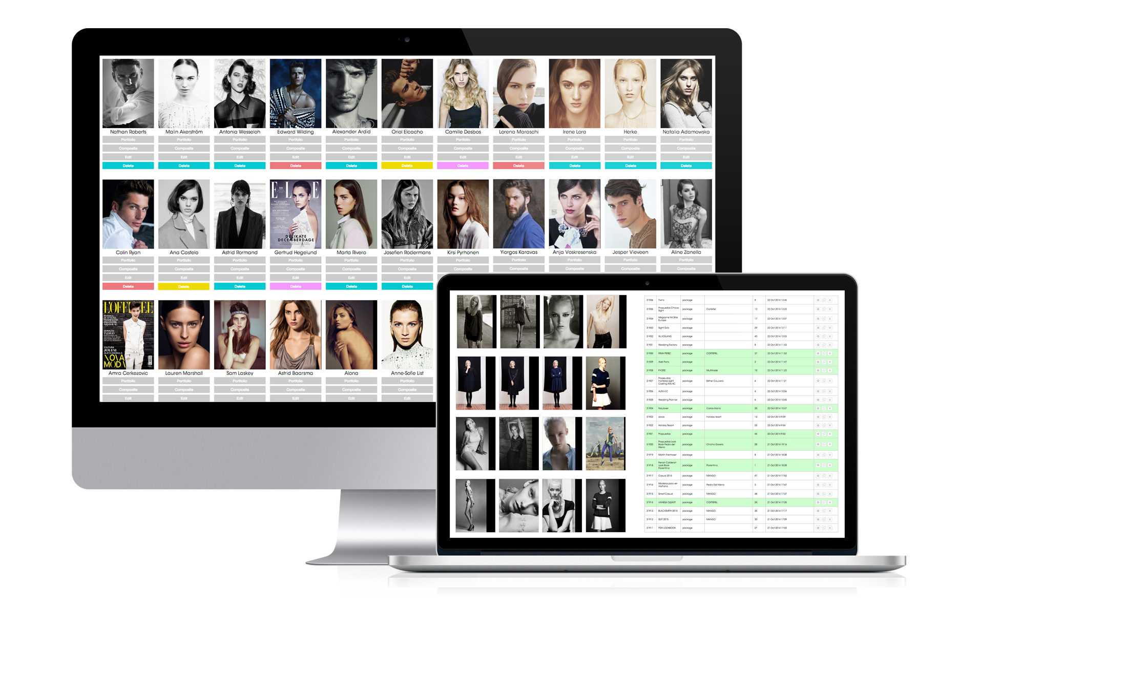 model agency software application